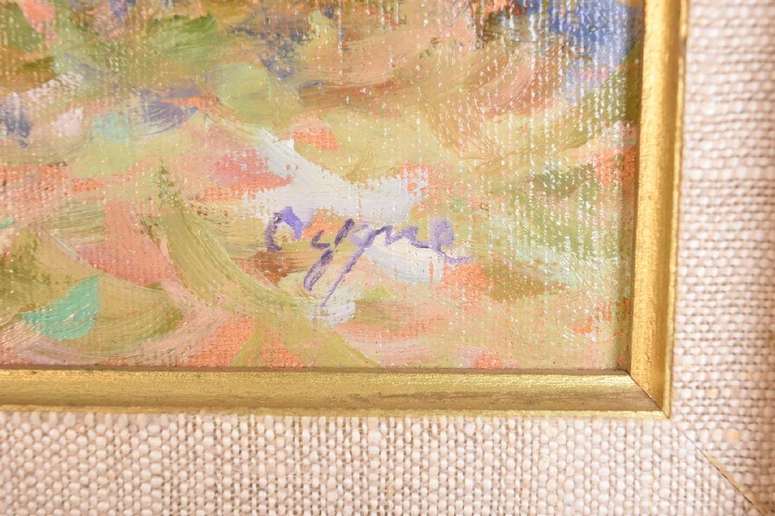 E.J. Cygne Original Oil on Canvas - 3