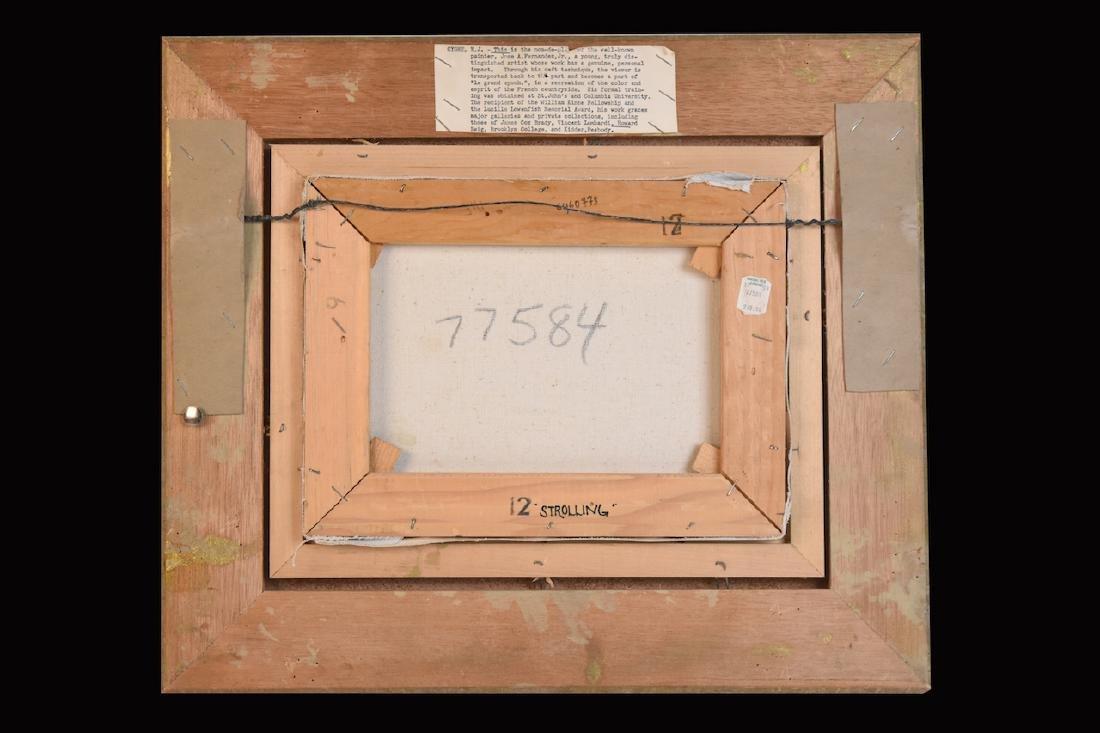 E.J. Cygne Original Oil on Canvas - 4