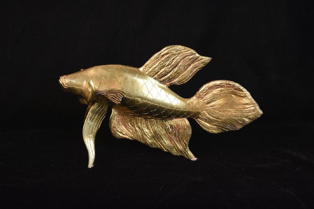 Siamese Fighting Fish by Teakwoods Inc.