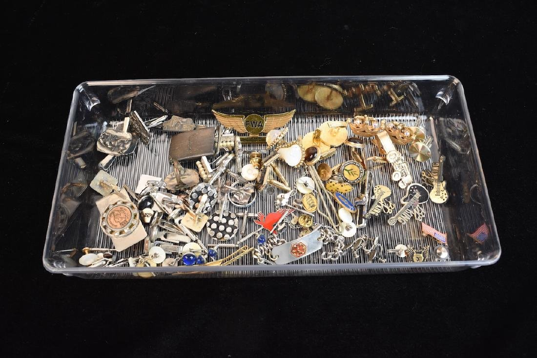 Assorted Men's Costume Jewelry