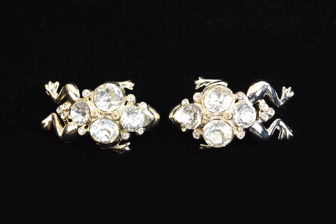 Rhinestone Jewelry; Staret, Eisenberg + - 4