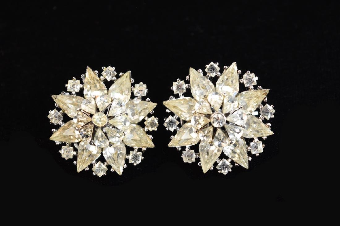 Rhinestone Jewelry; Staret, Eisenberg + - 5