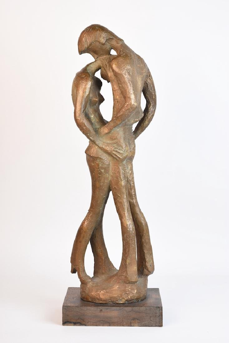 Milton Hebald Bronze Sculpture; First Love - 3