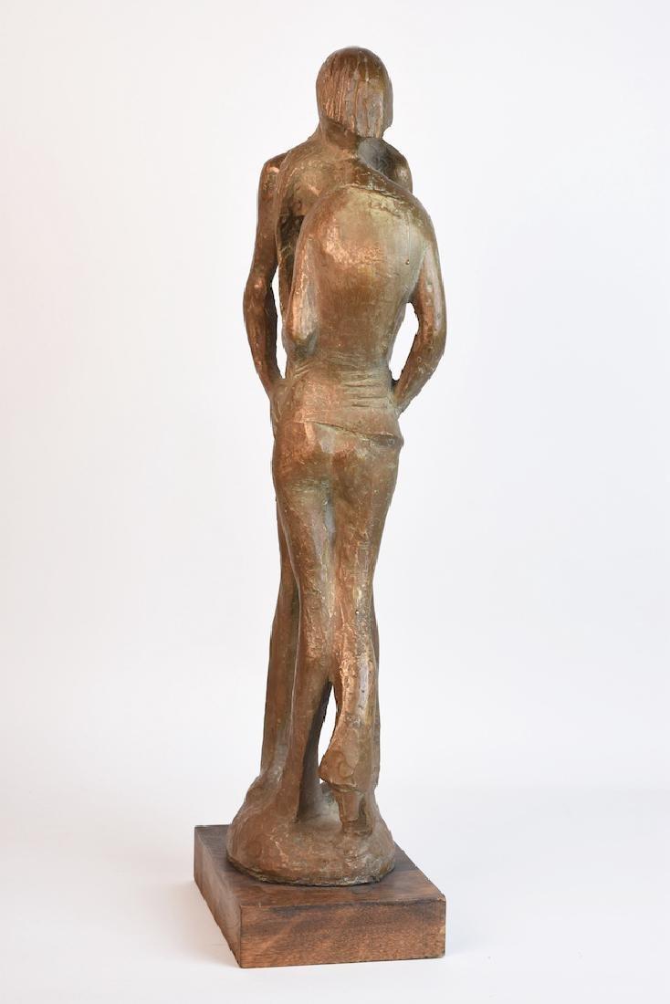 Milton Hebald Bronze Sculpture; First Love - 4