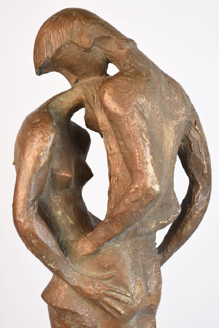 Milton Hebald Bronze Sculpture; First Love - 5