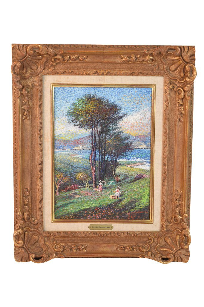 Lucien Neuquelman Original Oil on Canvas