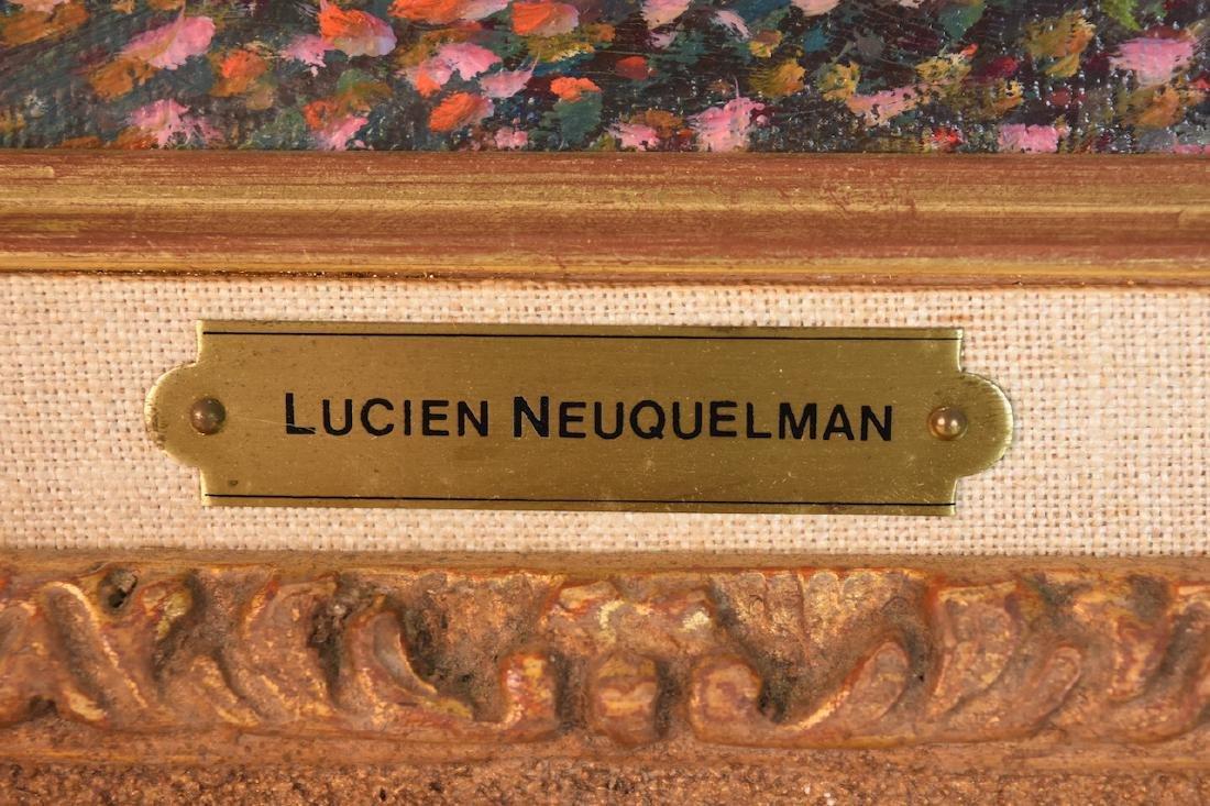 Lucien Neuquelman Original Oil on Canvas - 4