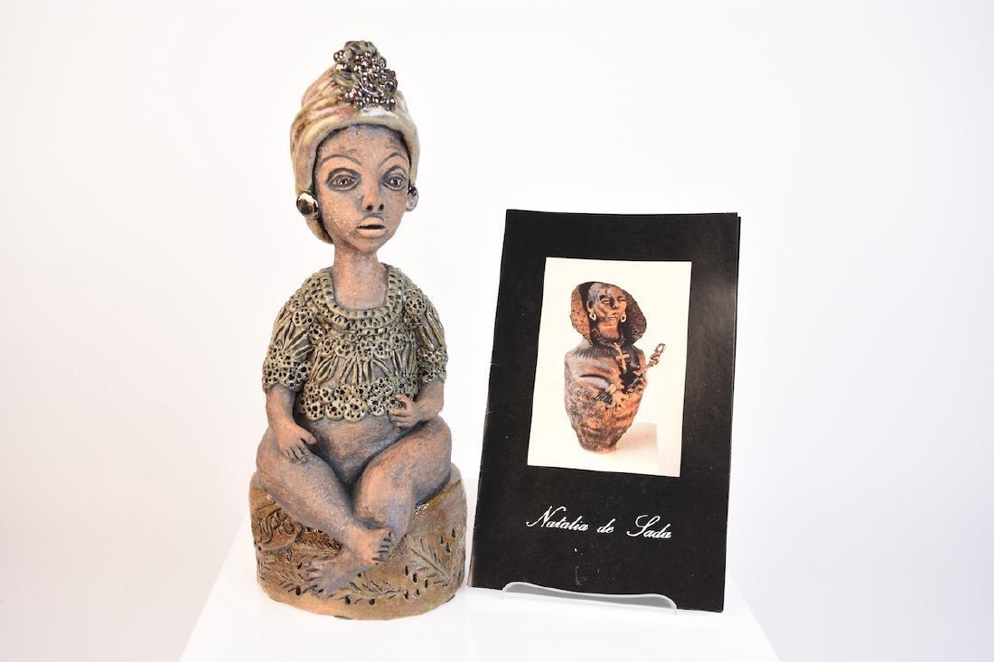 Natalia De Sada Ceramic Sculpture
