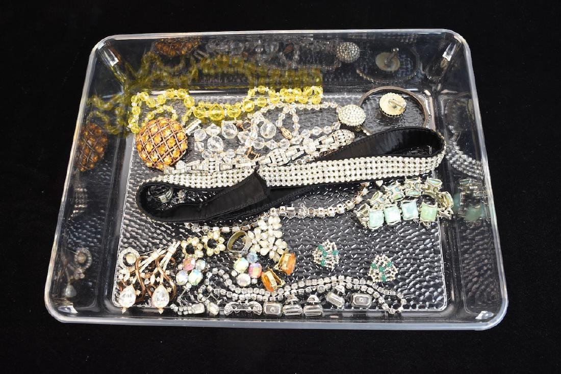 Assorted Costume Jewelry: Cora, Reja, Trifari