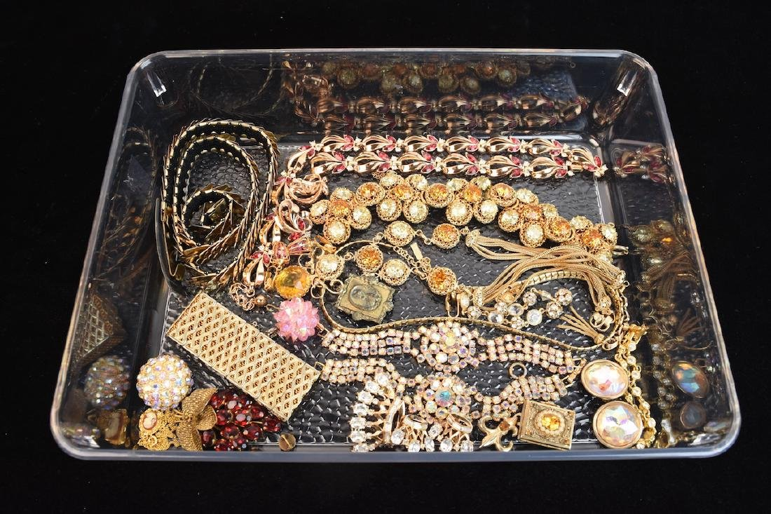 Costume Jewelry; Trifari, Cora, Napier +