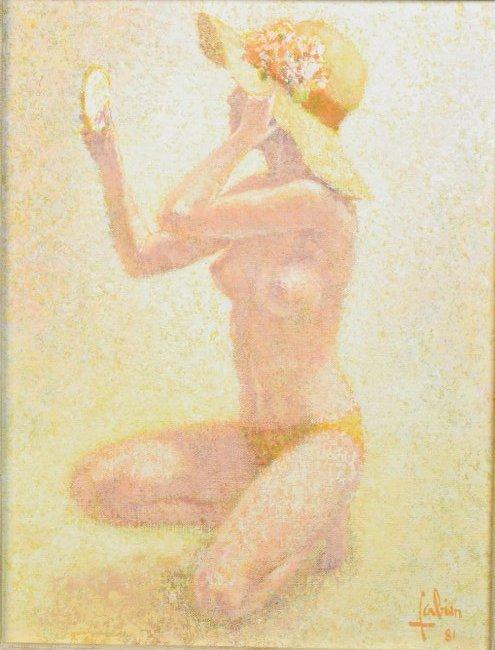 Louis Fabien Original O/C; Chapeau-Fleuri - 2