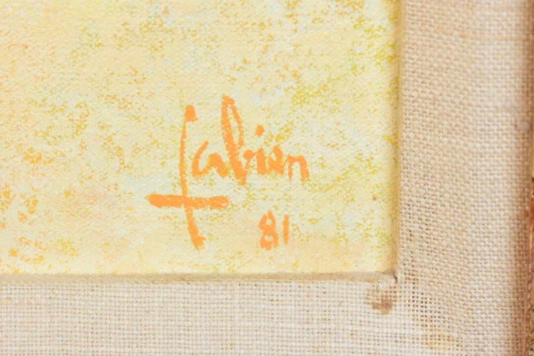 Louis Fabien Original O/C; Chapeau-Fleuri - 3