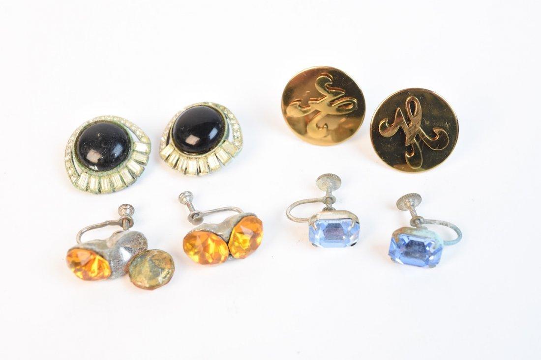Vintage Costume Jewelry; Monet, Cora, Trifari - 7