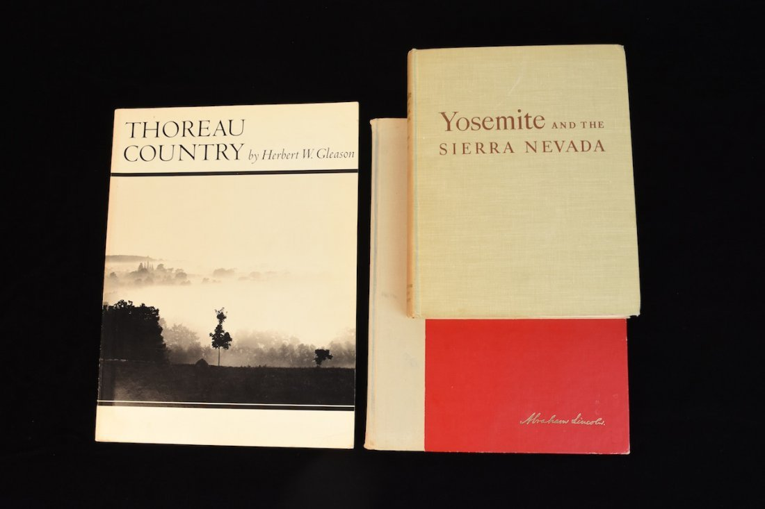 (3) Books Signed by and belonging to LW Bonsib