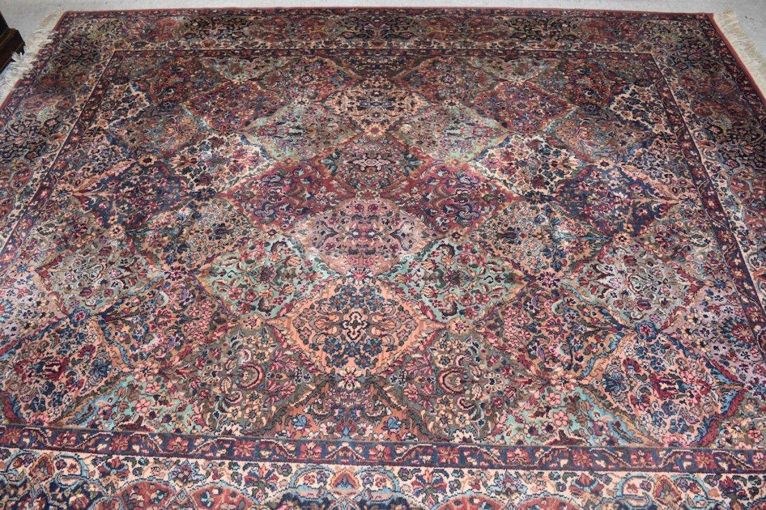 Karastan Kirman 100% Wool Area Rug & (2) Accent Rugs - 2