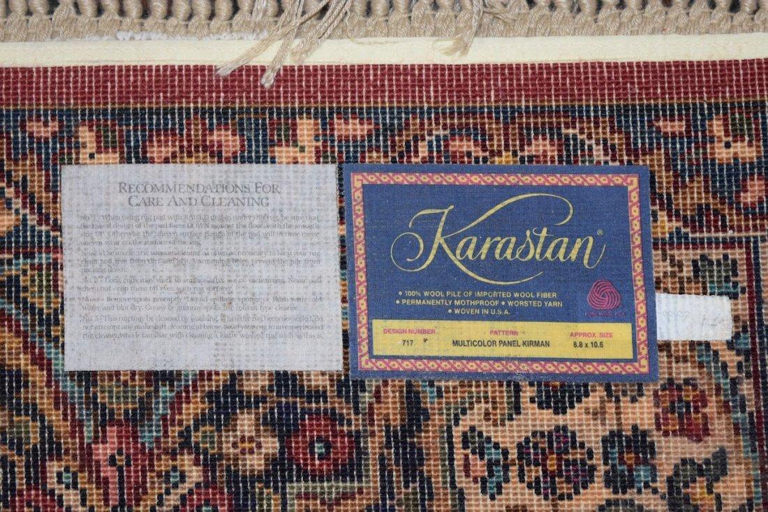 Karastan Kirman 100% Wool Area Rug & (2) Accent Rugs - 3