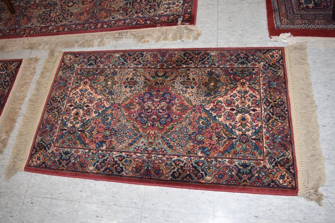 Karastan Kirman 100% Wool Area Rug & (2) Accent Rugs - 5