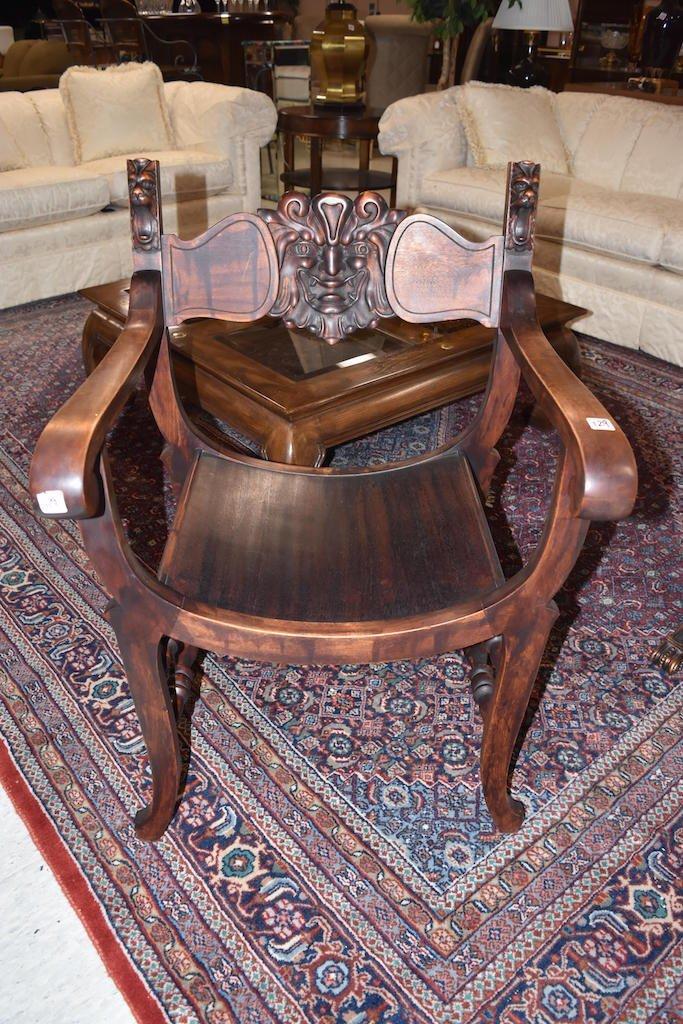 """Stomps-Burkhardt """"Green Man"""" Chair"""