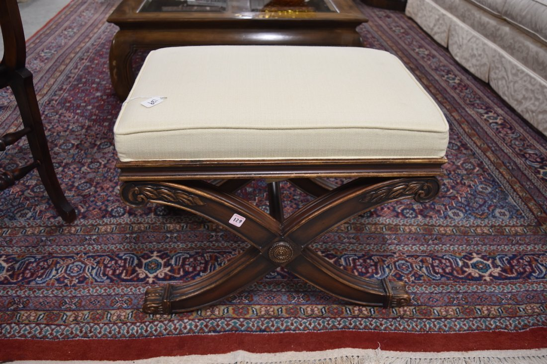 Ethan Allen Alexis Upholstered Bench