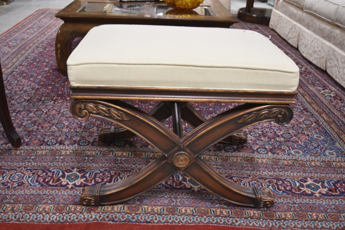 Ethan Allen Alexis Upholstered Bench - 3