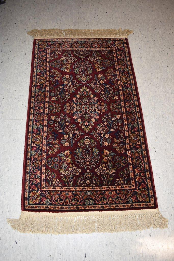 2 x 4 Karastan Red Sarouk Rug Design 785