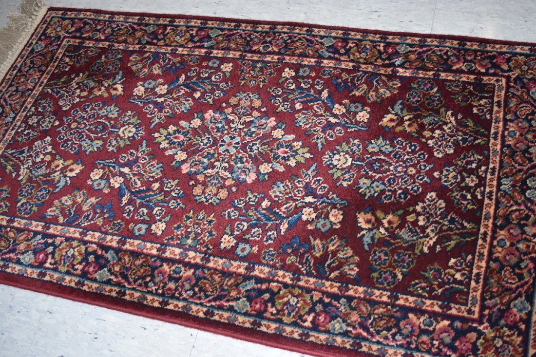 2 x 4 Karastan Red Sarouk Rug Design 785 - 3