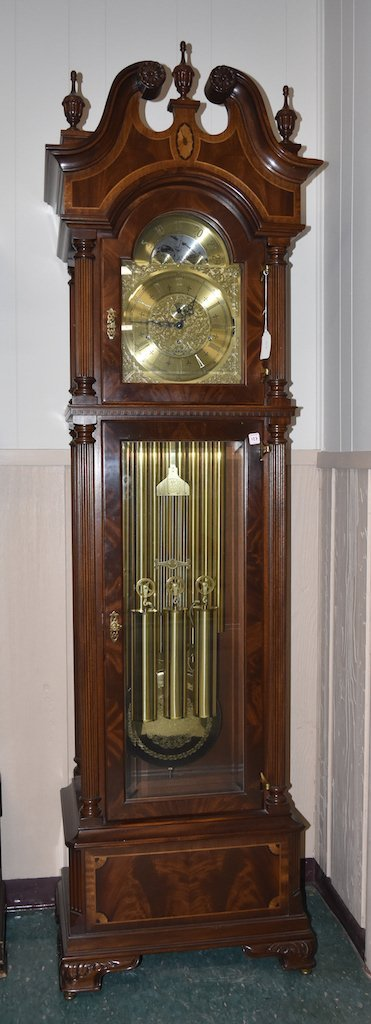 Sligh 100th Anniversary Triple Chime Grandfather Clock