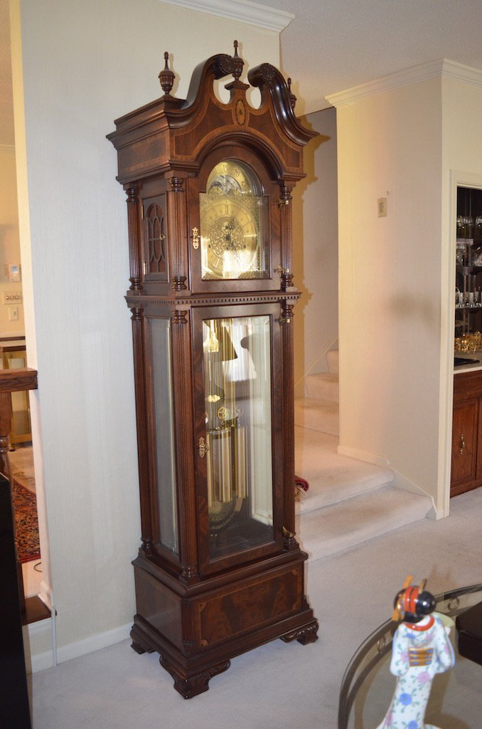 Sligh 100th Anniversary Triple Chime Grandfather Clock - 2