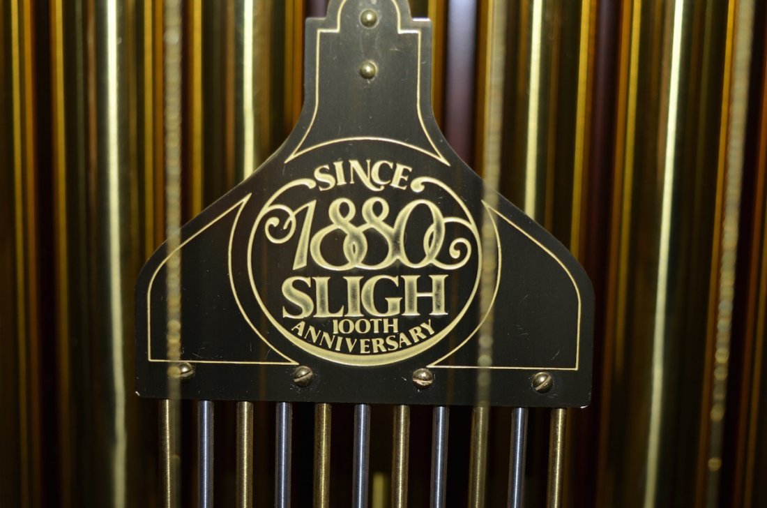 Sligh 100th Anniversary Triple Chime Grandfather Clock - 5
