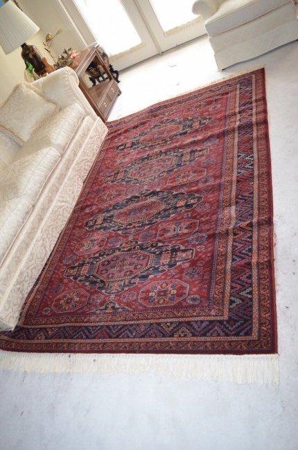 Kashimar 8' x 5' Area Rug 100% Wool