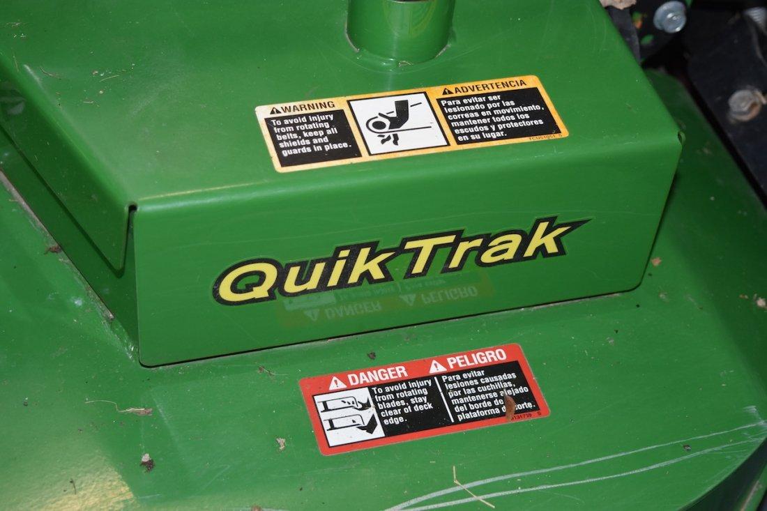 2013 John Deere QuikTrak Commercial Zero Turn Mower - 7