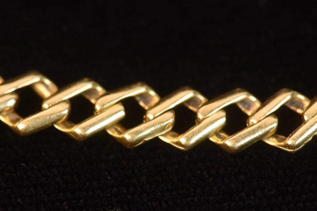 14K Yellow Gold Link Bracelet - 2