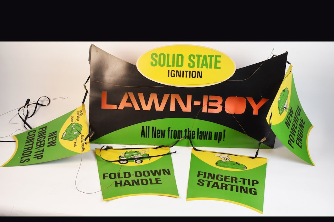 Lawn-Boy Advertisement