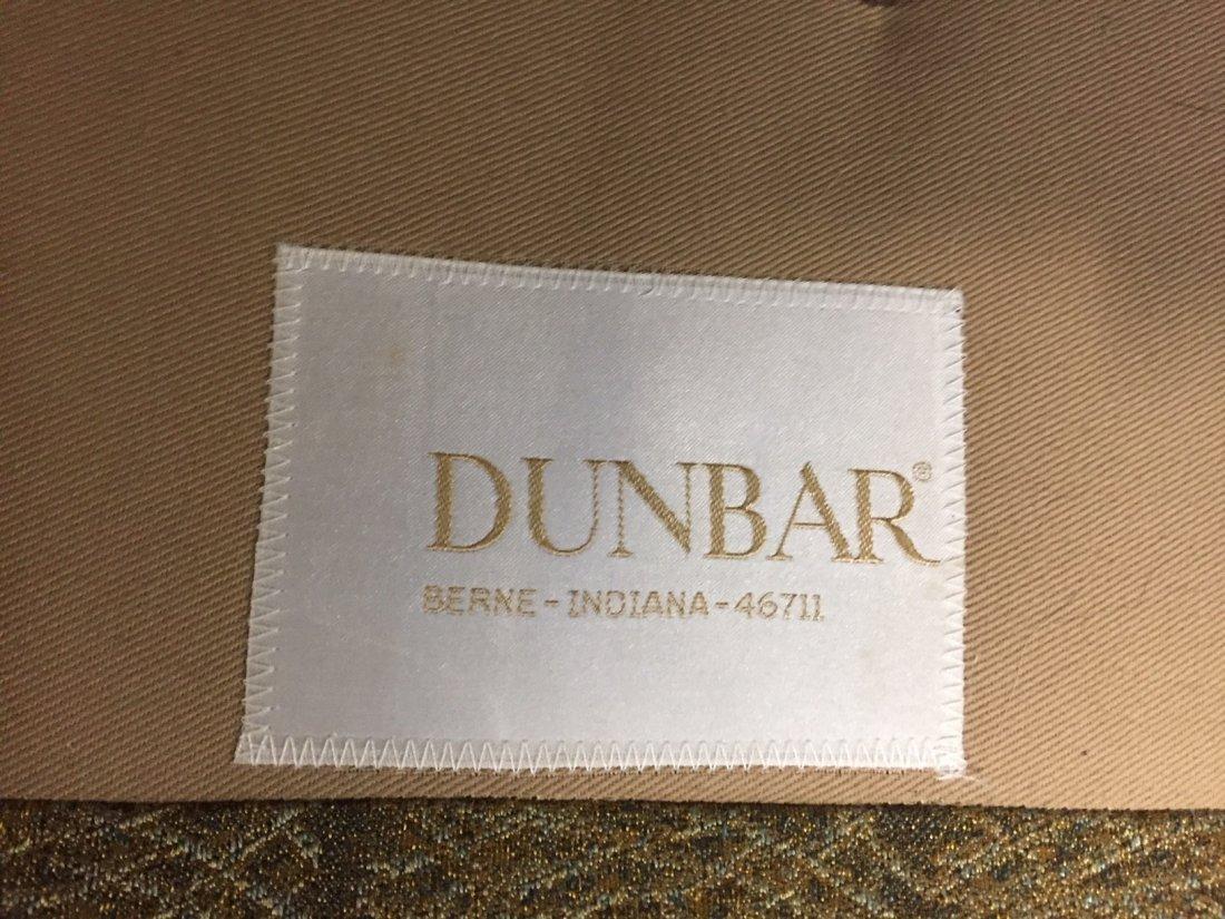Mid-Century Dunbar Sofa & Arm Chair; Original Covering - 4