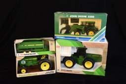 (4) ERTL John Deere 1/32 Scale Model Farm Toys NIB