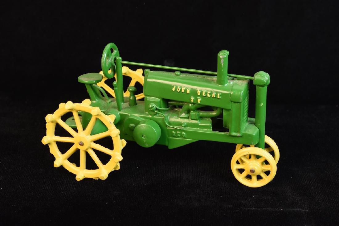 Vintage John Deere GP Cast Iron Farm Tractor