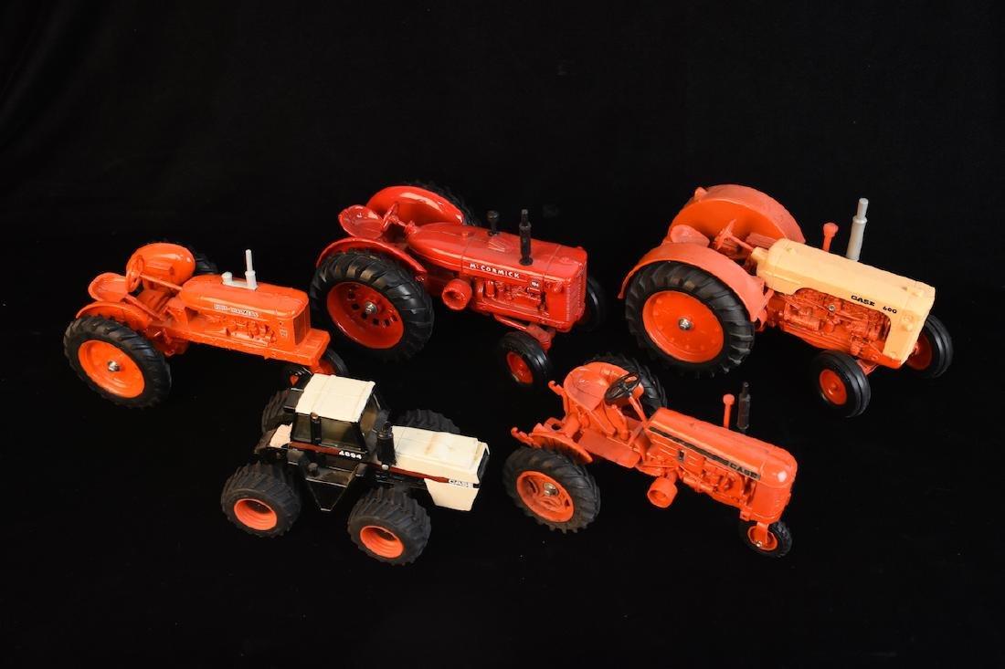 (5) Vintage ERTL Die Cast Farm Toys