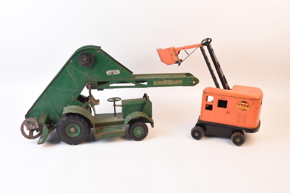 Vintage Construction & Farm Toys