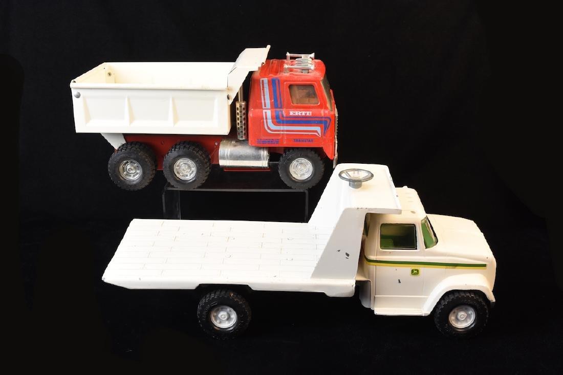 (2) Vint. ERTL Steel Vehicles, John Deere