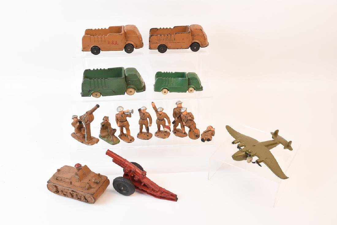 Auburn Rubber Army Vehicles & Soldiers