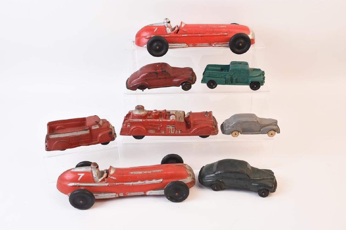 (7) Auburn Rubber Vehicle Assortment