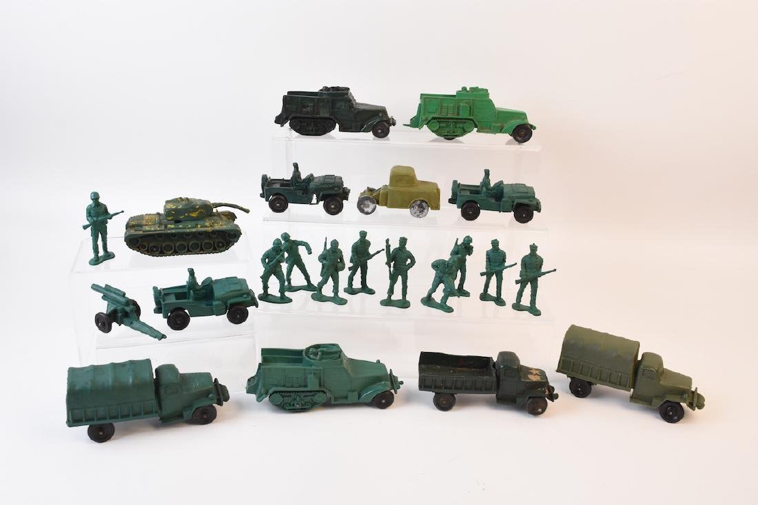 Vintage Rubber Army Vehicles, Most Auburn
