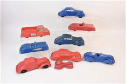 Auburn Garret Rubber Toy Vehicles