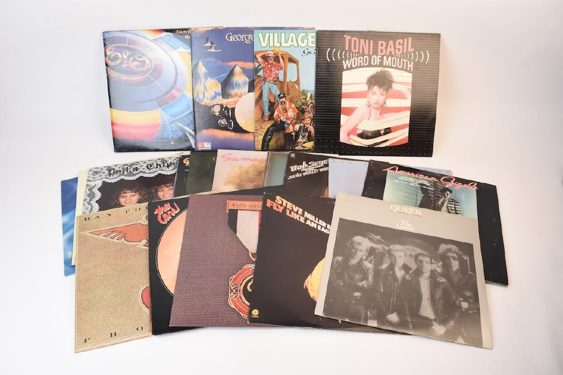 (22) Vinyl Records Late 70's & Early 80's