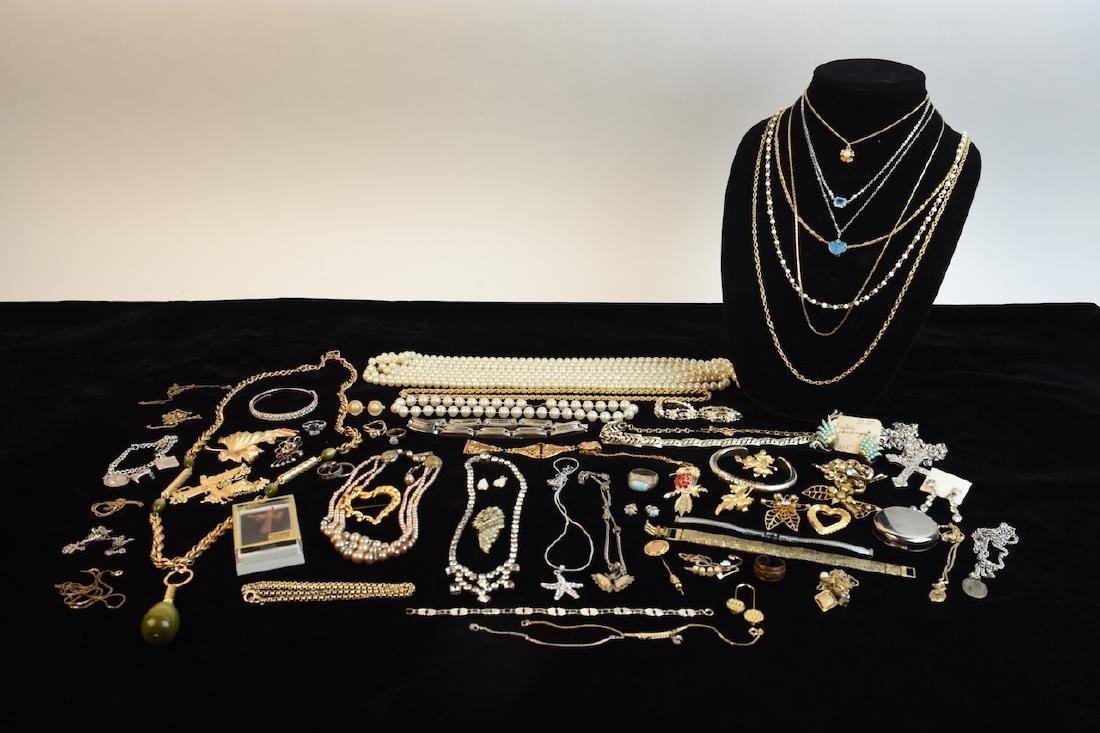 Assorted Jewelry; Trifari, Coro, Kramer +
