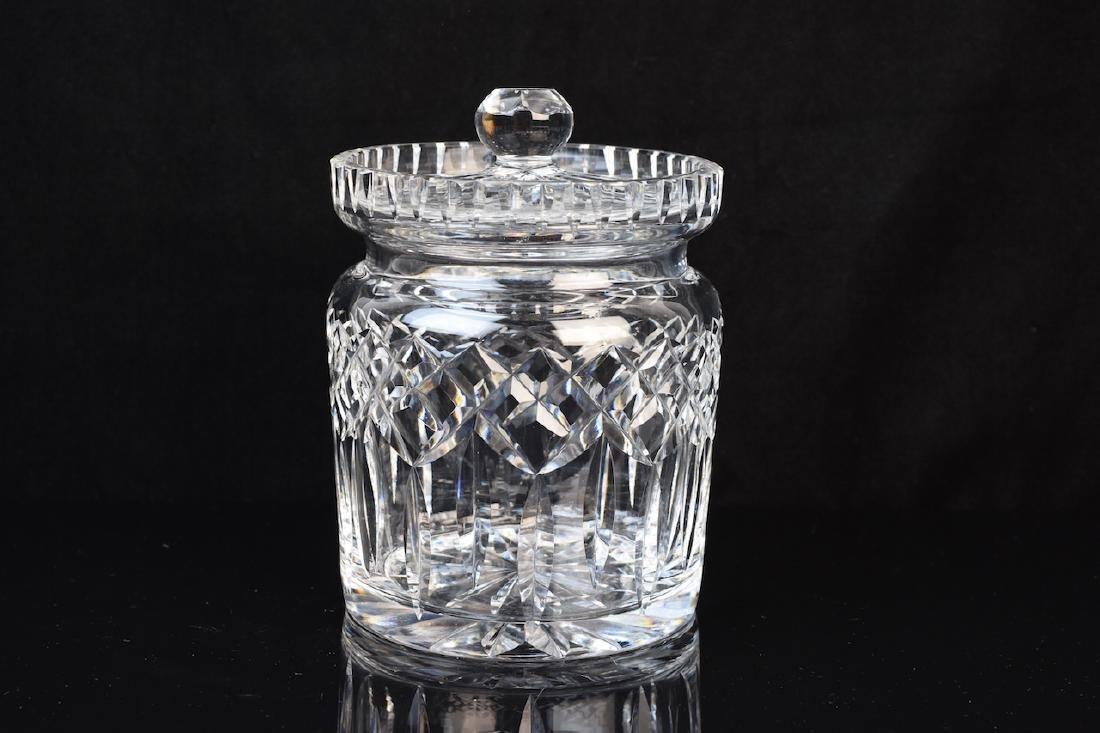Waterford Crystal Lidded Humidor/Biscuit Jar