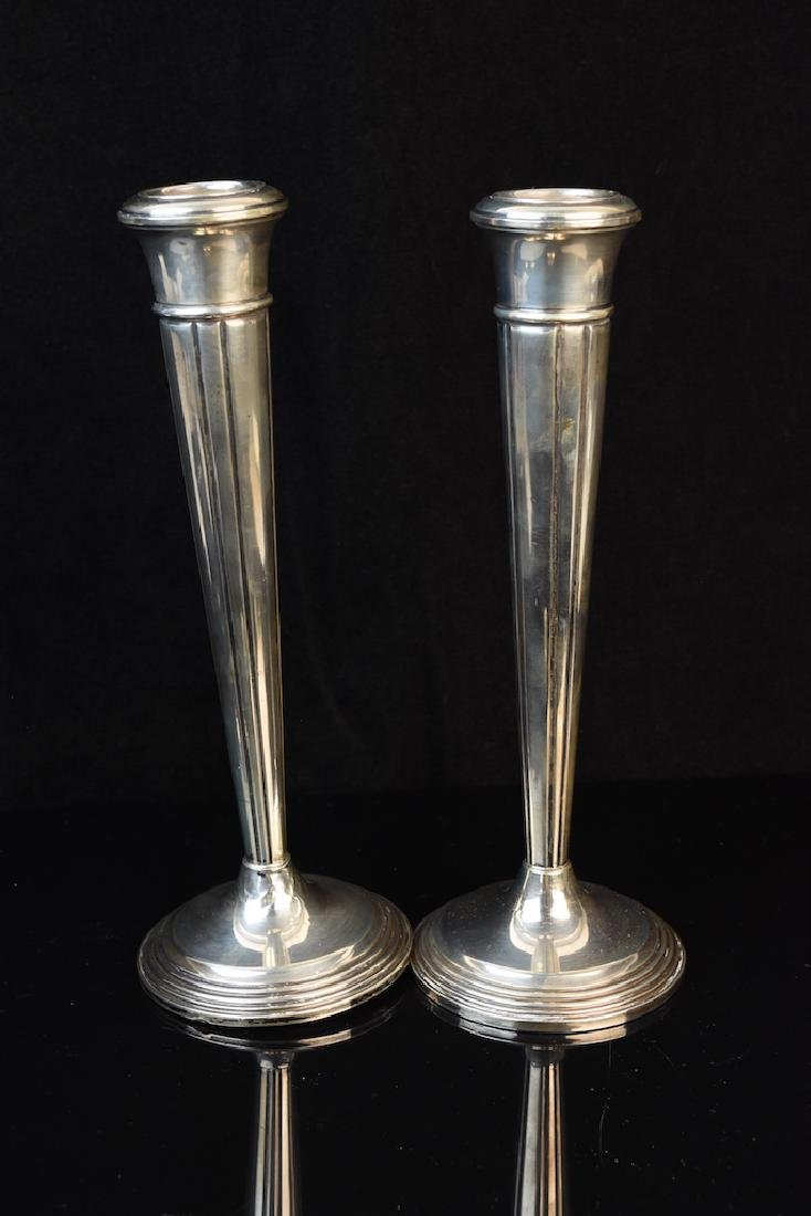 Sterling Hurricanes and Candlestick Holders - 6