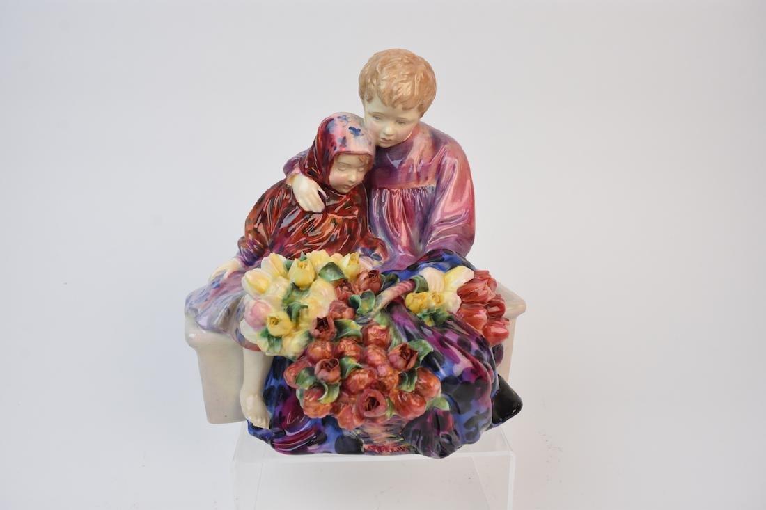 Royal Doulton Flower Sellers Children Figurine