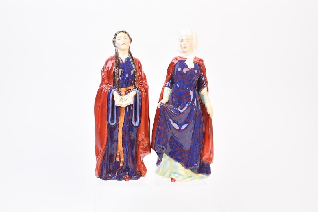 (2) Royal Doulton Porcelain Figurines
