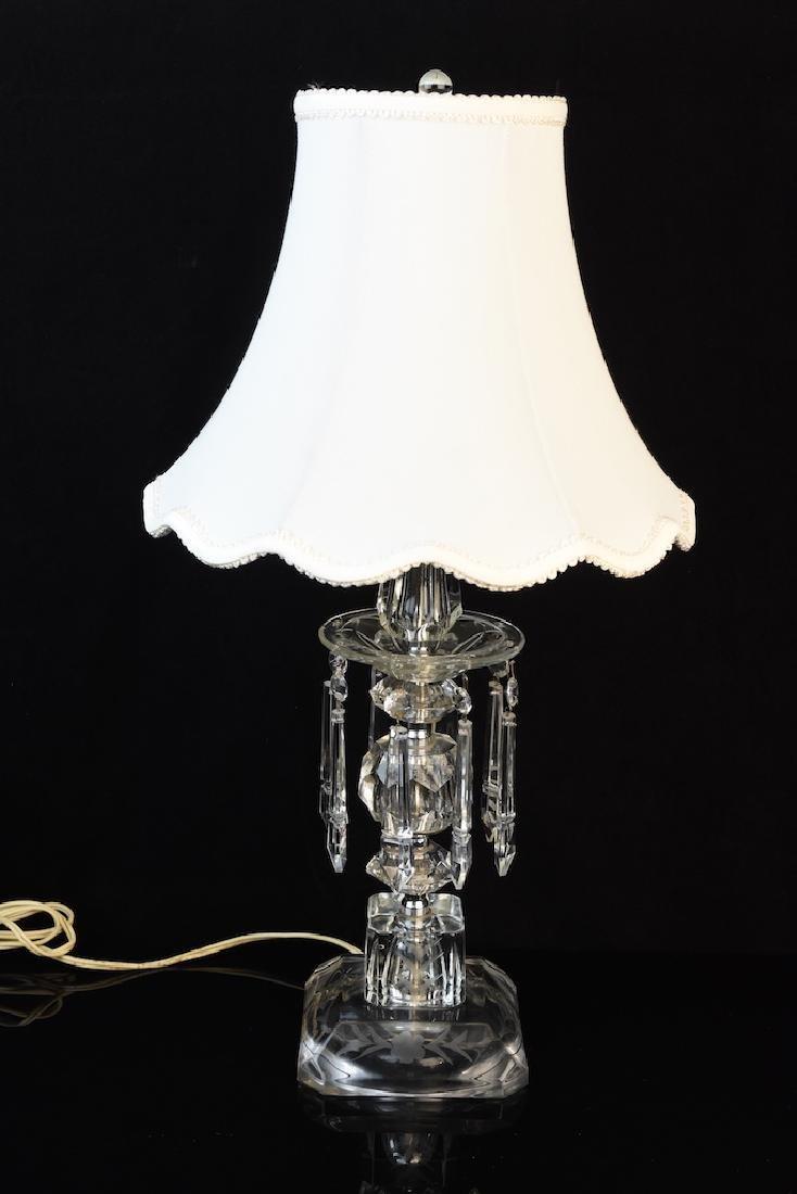 Elegant Luster Budoir Lamp